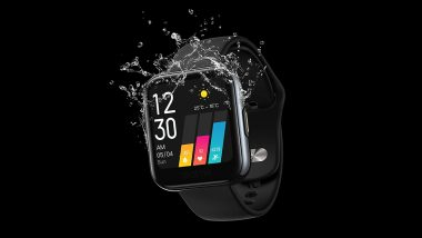 Realme Watch With Real-Time Heart Rate Monitoring Launched in India at Rs 3,999; First Sale on June 5 Via Flipkart & Realme Website