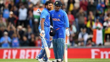 Rohit Sharma Reacts to Suresh Raina's 'Hitman Is Next MS Dhoni' Comment, Says 'CSK Captain One of a Kind, Shouldn't Be Compared' (Watch Video)