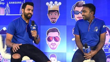 Rohit Sharma Wishes 'Happy Birthday' to Mumbai Indians' Head Coach Mahela Jayawardene (View Post)