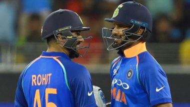 Rohit Sharma Recalls Funny Incident When Shikhar Dhawan Suddenly Started Singing During India vs Bangladesh Match in 2015 (Watch Video)