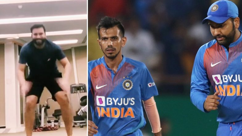 Rohit Sharma Trolls Yuzvendra Chahal's Fielding Skills in His Latest Instagram Video
