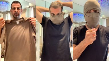 Ronit Roy's Video On How to Make Balaclava Mask Using T-Shirt Goes Viral Amid the On-Going George Floyd Protests in America