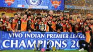 This Day That Year: David Warner Recalls Sunrisers Hyderabad's Triumph in IPL 2016 (View Post)