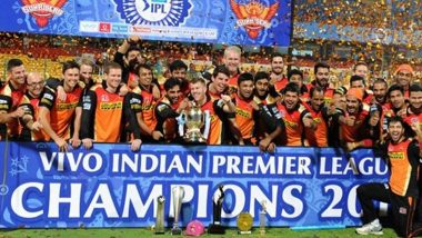 This Day That Year: David Warner Recalls Sunrisers Hyderabad's Triumph in IPL 2016 (View Post)