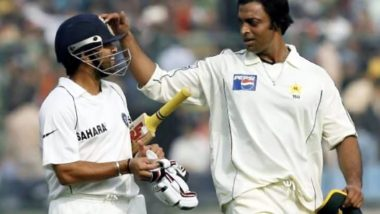 'I Kept Bowling Bouncers at Him': Shoaib Akhtar Recalls Troubling Sachin Tendulkar During India vs Pakistan Faisalabad Test in 2006