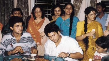 Sachin Tendulkar Shares Throwback Picture of House Party at Sourav Ganguly's Residence (View Post)