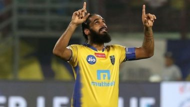 Kerala Blasters Retire Sandesh Jhingan's No. 21 Jersey As Defender Parts Ways With ISL Club After Six Years