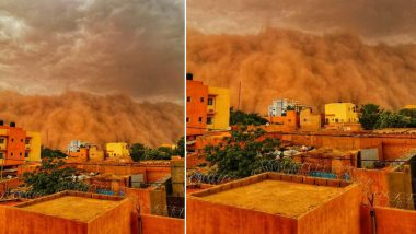 Sandstorm Engulfs West Africa's Niamey City, Turns Sky 'Red'; See Beautiful Pics and Videos From Niger
