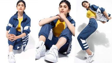 Sanjana Sanghi Is Athleisure Chic in This Photoshoot for Adidas Originals!