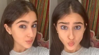 Sara Ali Khan's Many Moods On Her Instagram Story Will Knock Off Your Quarantine Blues (View Pic)