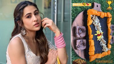 Sara Ali Khan's Monday Brekkie Is a Sweet Combination of Brownie Along With Mangoes (View Pic)