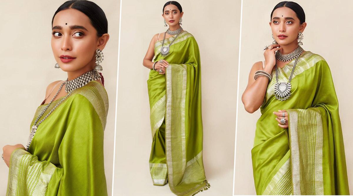 Sayani Gupta Oozes Lush Green Silken Six Yards of Understated Elegance in This Throwback Picture!