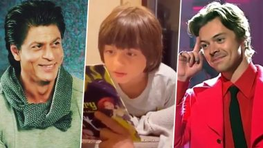AbRam Khan's Seventh Birthday Celebration Was All About Shah Rukh Khan, A 'Scary' Read And Harry Styles (Watch Video)