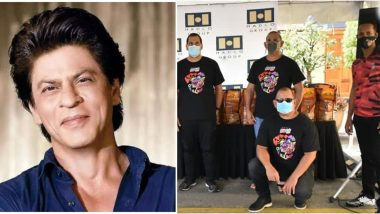 Shah Rukh Khan Says 'Proud Of My Boys', Lauds His Team Trinbago Knight Riders For Providing Food Hampers to the Needy in Trinidad and Tobago