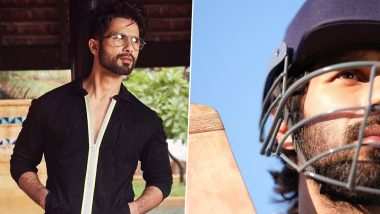 Shahid Kapoor Misses Being On The Sets Of Jersey (View Pic)