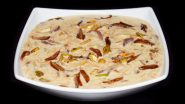 Eid 2021 Dessert Recipe: Here's a Quick and Easy Way to Make Sheer Khurma at Home to Wish Eid al-Fitr Mubarak in the Sweetest Way! (Watch Video)