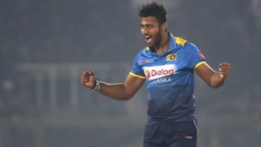 Shehan Madushanka, Sri Lanka Cricketer, Detained for Alleged Possession of Drugs
