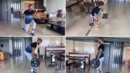 Shikhar Dhawan Keeps His 'Fitness Game Strong' Amid COVID-19 Lockdown, Shares Workout Video on Instagram