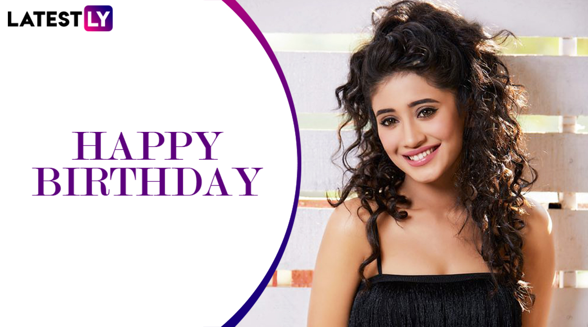 Shivangi Joshi Birthday: From Being a Prabhas Fan to a Trained Kathak Dancer, Interesting Facts About the Yeh Rishta Kya Kehlata Hai Actress!