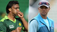 Shoaib Akhtar Hails Rahul Dravid's Defence, Picks Him As India's Most Decorated Batsman