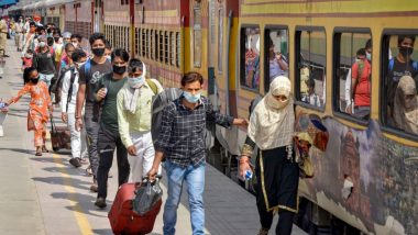 Indian Railways Has Run 2,813 Shramik Special Trains So Far, Over 37 lakh Passengers Ferried Amid COVID-19 Lockdown