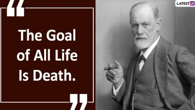 Sigmund Freud Quotes With Hd Images Thoughtful Sayings About Love Dreams Life And Religion By Austrian Neurologist To Celebrate His 164th Birth Anniversary Latestly