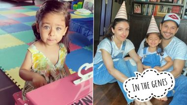Soha Ali Khan's Little One Inaaya Sings a Birthday Song for 'Pappa' Kunal Kemmu And Our Hearts Are Melting (Watch Video)