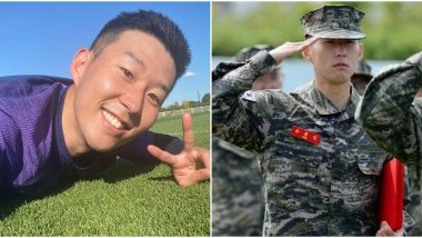 Tottenham Hotspur Star Son Heung-Min Returns to Club Training After Completing Compulsory Military Service in South Korea