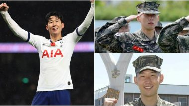 Tottenham Hotspur's Son Heung-Min Completes Three-Week Mandatory Military Service in South Korea (See Pics)