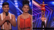 'BAD Salsa' Pair Sonali and Sumanth Make India Proud On America's Got Talent Stage (Watch Video)