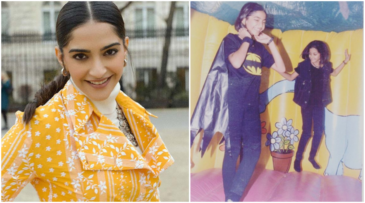 Sonam Kapoor Says 'Yes I Was a Nerd' As She Confesses Love For Her Favourite Superhero With a Throwback Picture!