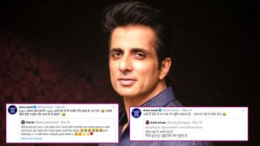 Little Girl Requesting Sonu Sood to Send Mom to Granny's Home on Father's Request Goes Viral, 5 Instances When Bollywood Star Wittily Tackled Hilarious Requests Online