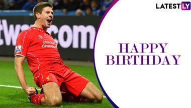 Steven Gerrard Birthday Special: Five Best Goals by Liverpool's Captain Fantastic