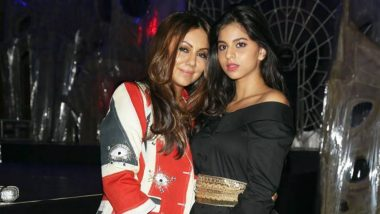 Shah Rukh Khan's Daughter Suhana Khan Wishes Mom Gauri Khan on Mother's Day Saying, 'Kinda Mad That I Don't Look Like You' (View Post)