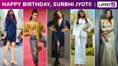 Surbhi Jyoti Birthday Special: Perennially Sultry and Sassy, Her Fashion Arsenal Has an Ensemble for Every Mood!