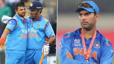 MS Dhoni Supported Me Because of My Talent: Suresh Raina Responds to Yuvraj Singh's 'Favourite Player' Remark