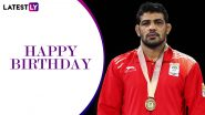 Sushil Kumar Birthday Special: From Olympic Medals to Commonwealth Games Streak, Interesting Facts About the Champion Wrestler