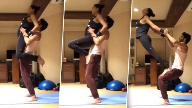 Sushmita Sen Works Out With Her 'Tough Guy' Rohman Shawl and It Flaunts Their Balanced Relationship (Watch Video)