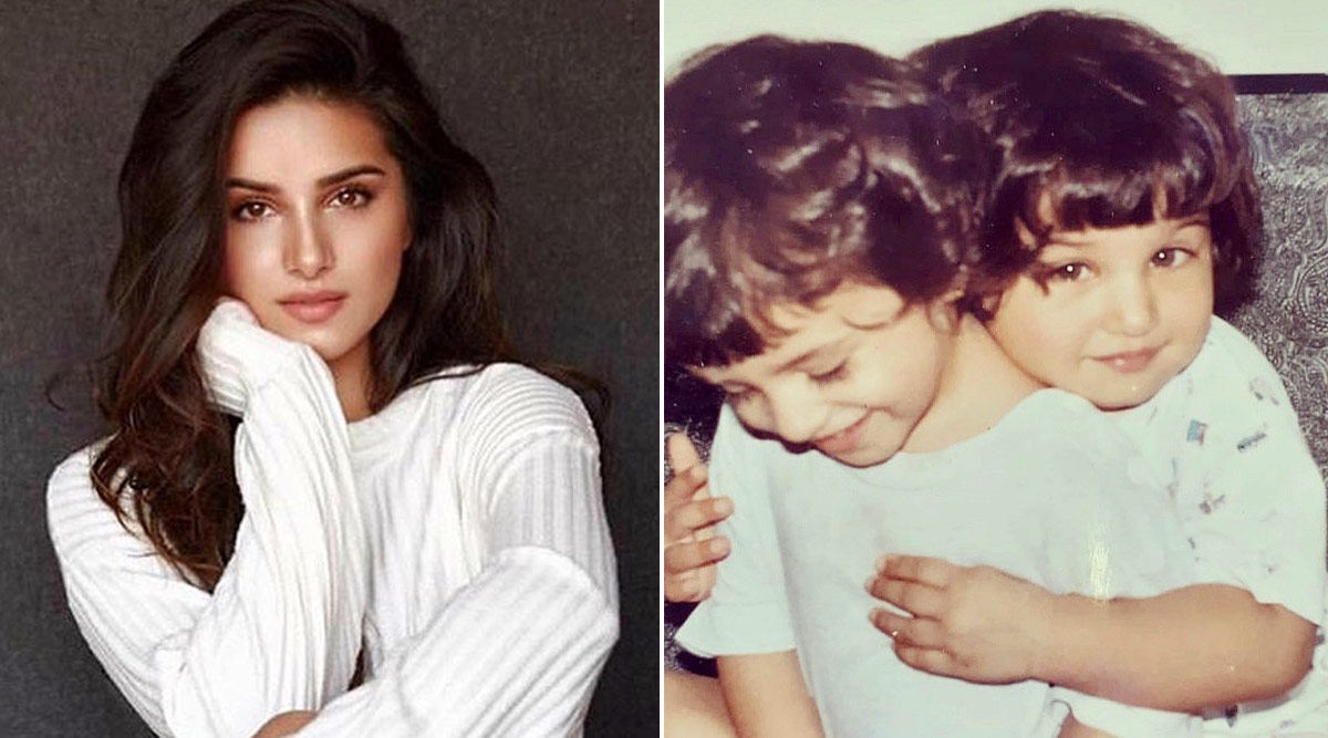 Momos Alert! Tara Sutaria Shares a Childhood Picture With Her 'Needier Twin' and They're Cuteness Galore
