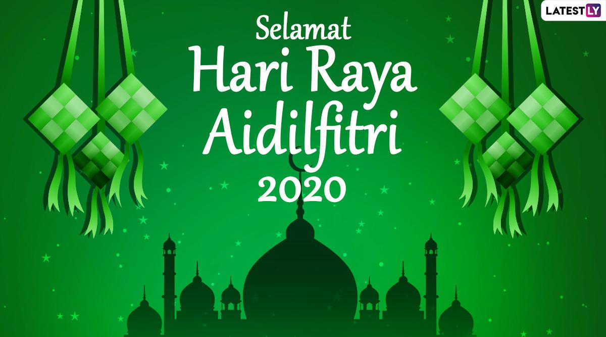 Hari Raya Aidilfitri 2020 Greetings Hd Images Whatsapp Stickers Selamat Hari Raya Messages Facebook Wishes And Gifs To Keep Up The Festive Spirit Latestly