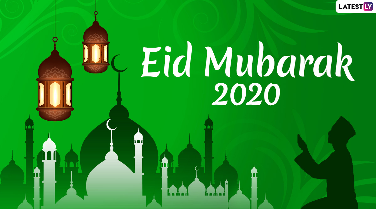 Happy Eid al-Fitr 2020 Greetings: WhatsApp Stickers, Eid Mubarak HD Images, Facebook Wishes and GIF Messages to Celebrate Eid