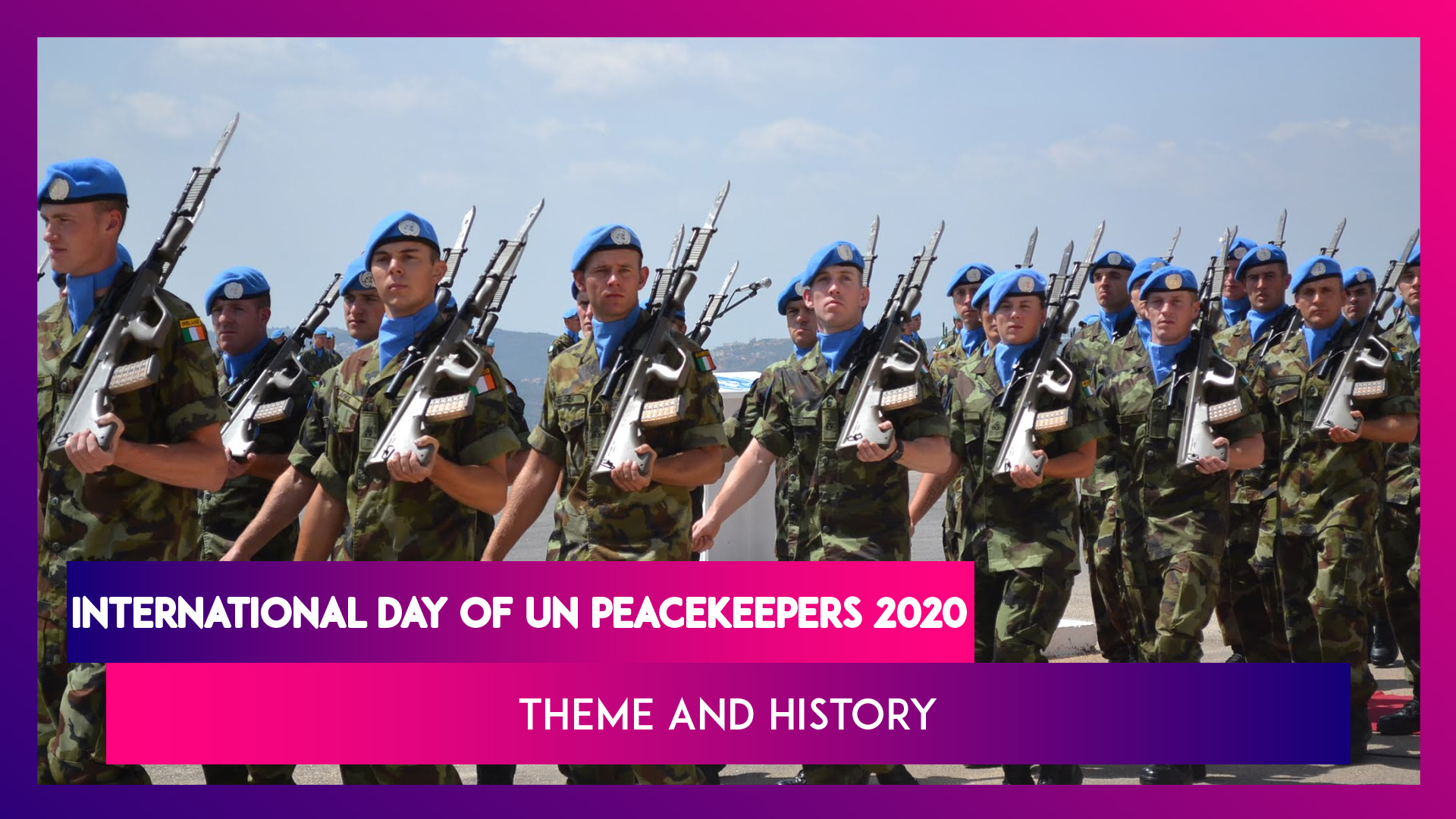 International Day Of UN Peacekeepers 2020: Remembering People Who Lost Lives For The Cause Of Peace