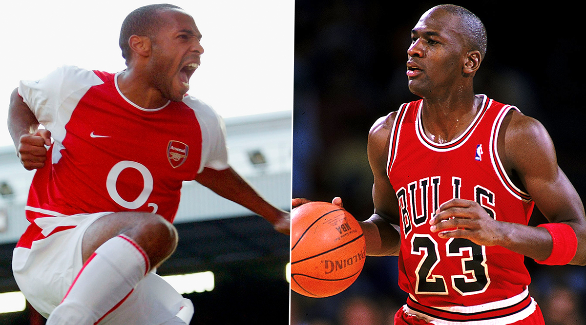 Thierry Henry Dubbed As Football's Michael Jordan By Former Arsenal Forward Carlos Vela