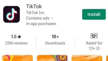 TikTok's User Reviews Drop From 27 Million to 22 Million Since Last Week on Google Play Store