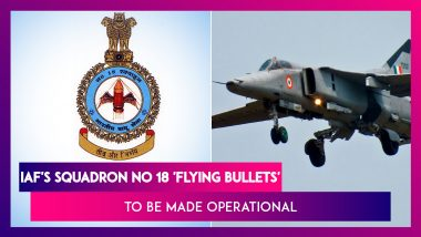 'Flying Bullets', Squadron No 18 To Be Made Operational At Sulur Airbase, To Fly LCA Tejas