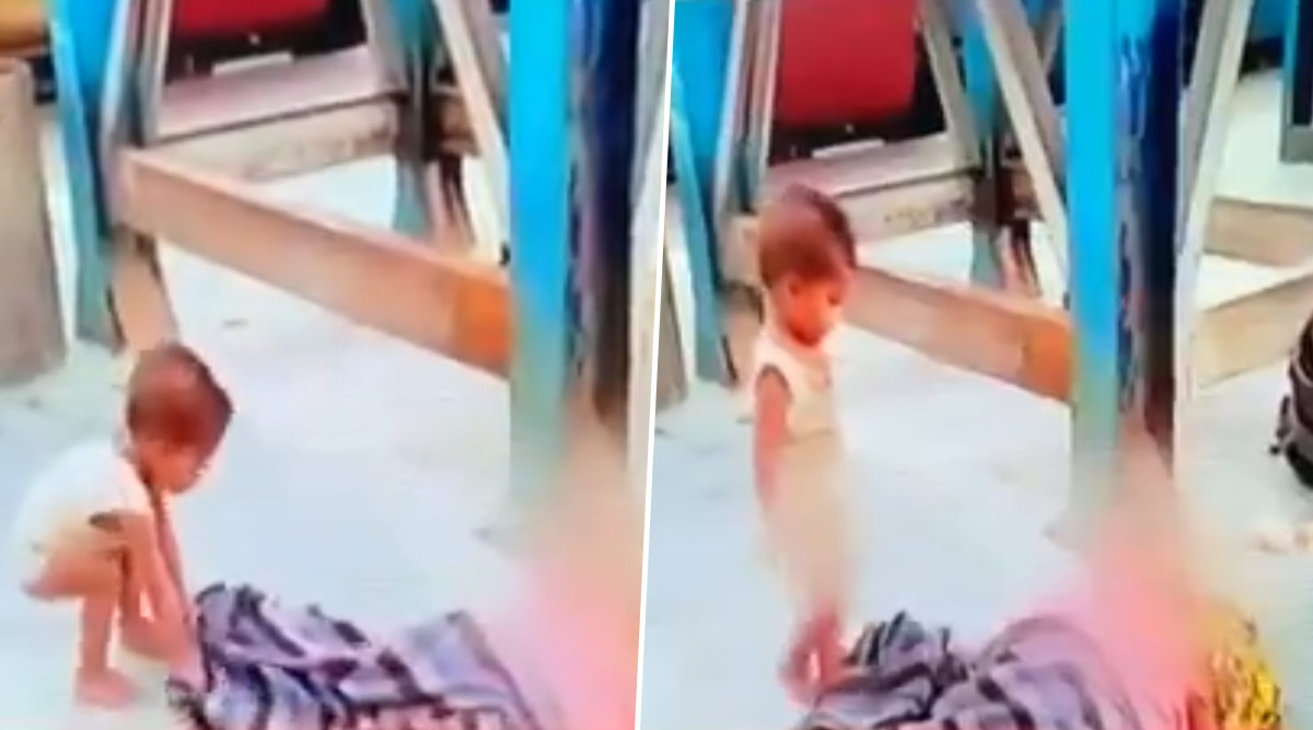 Toddler Tries to Wake Dead Mother at Muzaffarpur Railway Station in Bihar, Heart-Wrenching Video Goes Viral