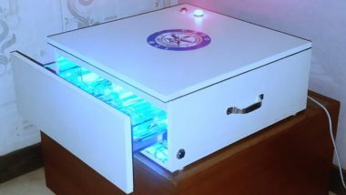 DRDO Develops Automated Contactless UVC Sanitising Cabinet for Mobiles, iPads, Laptops, Currency Notes & More