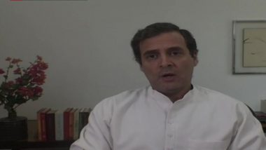 Rahul Gandhi Questions Narendra Modi Govt Over 'Silence' on India-China Face Off, Says ' GOI Must Come Clean And Tell India Exactly What's Happening'