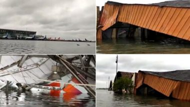 Cyclone Amphan: Kolkata Airport Witnesses Flood And Destruction as Fierce Storm Wreaks Havoc, Watch Video