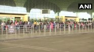 Domestic Flights in India Resume Today After Two-Months Hiatus Amid COVID-19 Lockdown, Long Queues Seen at Airports, View Pics